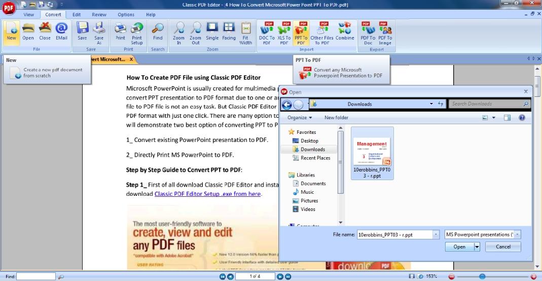 Free PDF editor for download - PDF24