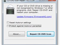 CD-DVD Icon Repair.