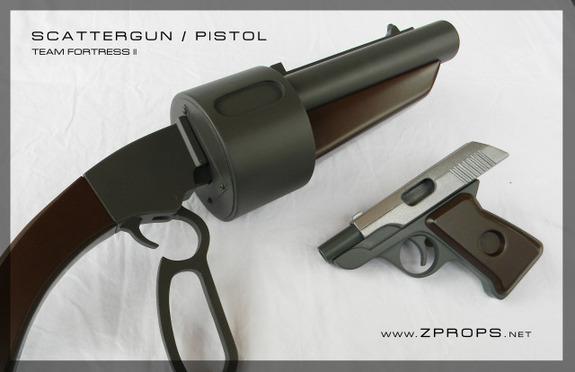 Armas De TEAM FORTRESS Ganham Replicas. 84786619391347