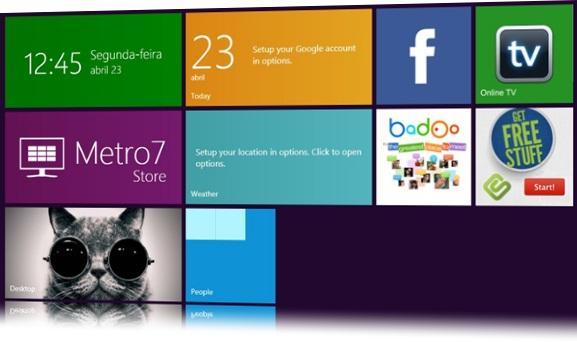 Metro no Windows 7
