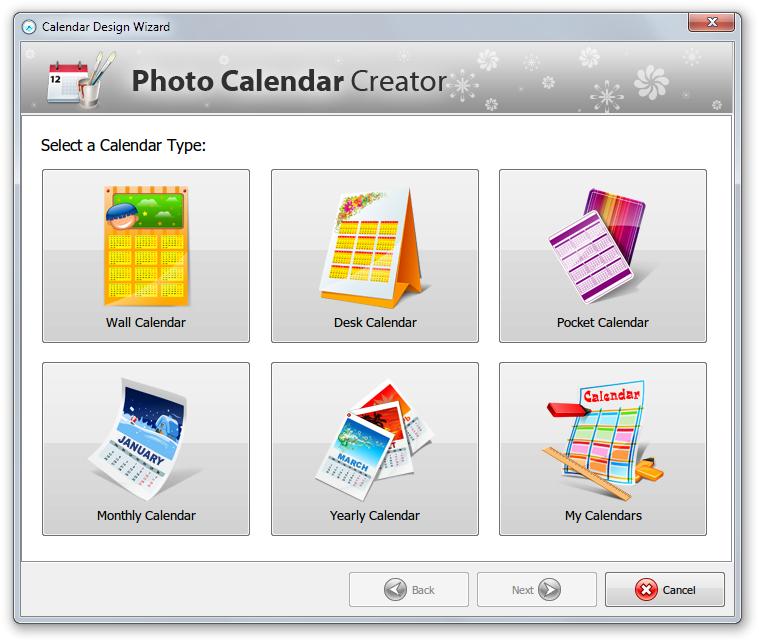 Photo Calendar Creator - Imagem 1 do software