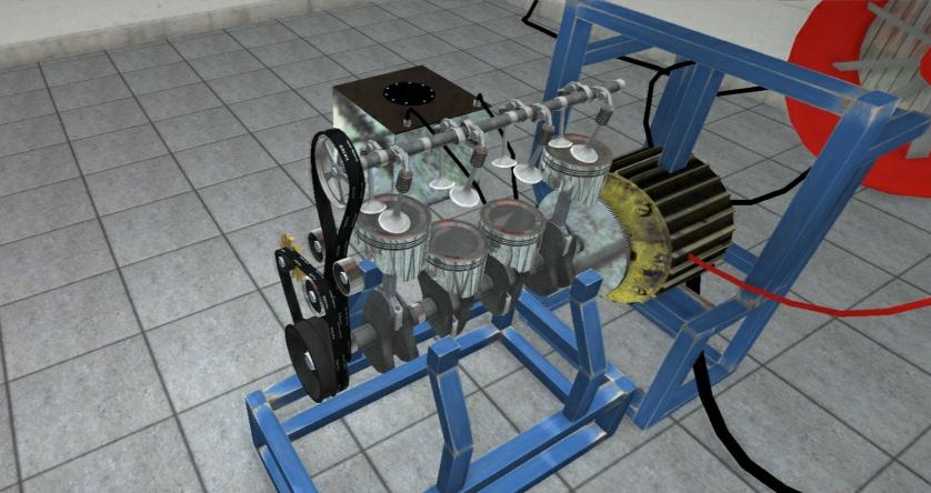 Foto do motor