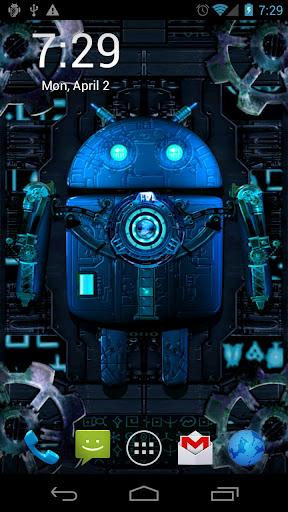 Steampunk droid live wallpaper download for Wallpapers animados para android