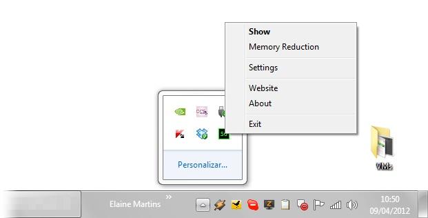 Mem Reduct - Imagem 1 do software
