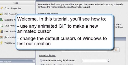 Assista aos tutoriais do AniTuner