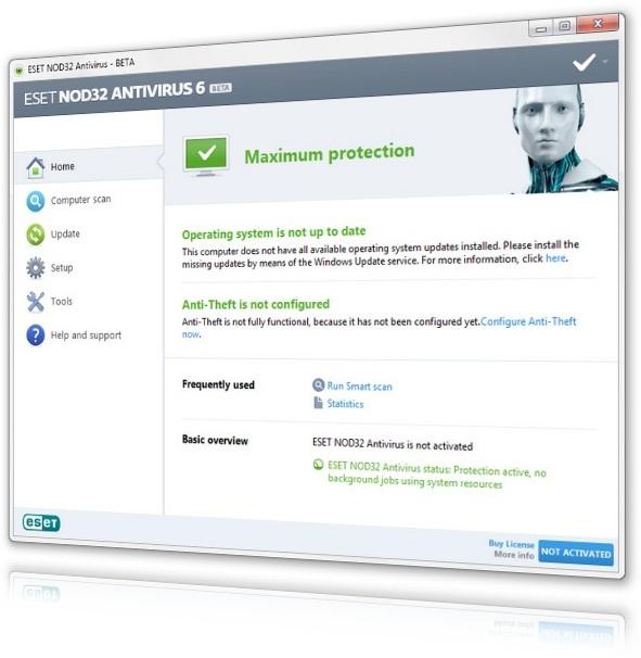 ESET NOD32 Antivirus Beta