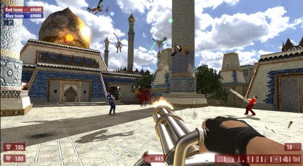Serious Sam HD: The Second Encounter.