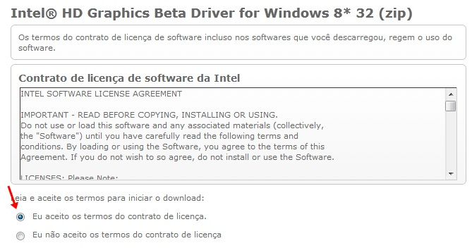 Intel HD Graphics Driver para Windows 8