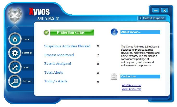 ANTIVÍRUS XYVOS 1.5