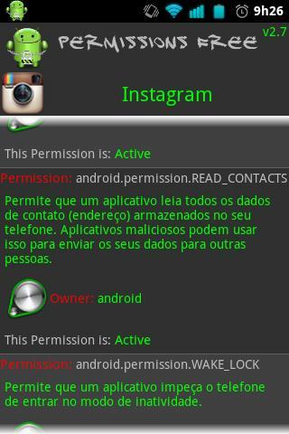 Android: como restringir permissões e acessos 30730135720133019
