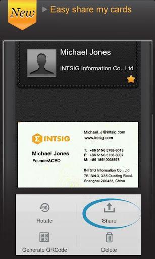 Camcard business card reader download camcard business card reader imagem 2 do software reheart Gallery