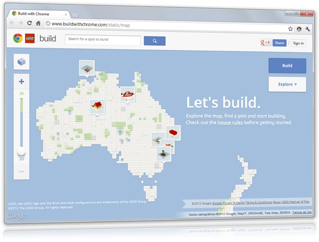 Build With Chrome - Imagem 1 do software