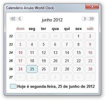 Anuko World Clock.