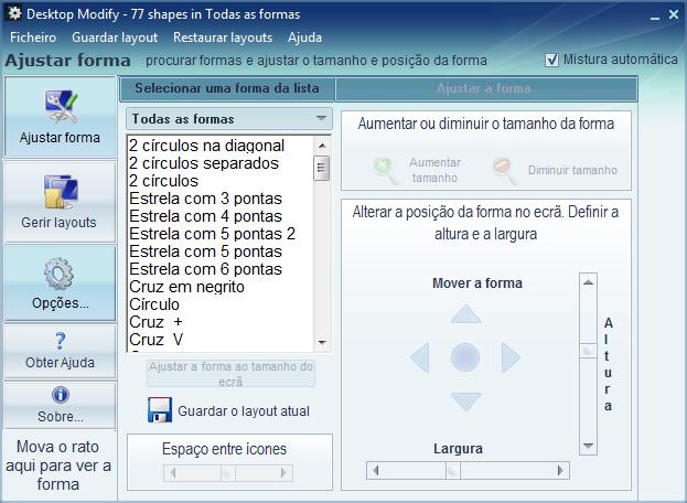 Desktop Modify - Imagem 4 do software