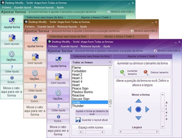 Desktop Modify - Imagem 5 do software