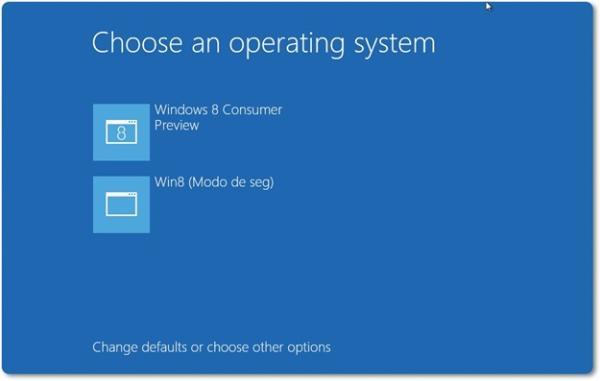 Windows 8: como iniciar o sistema em modo de segurança