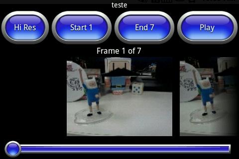 Edite os frames do seu vídeo