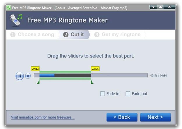 Free MP3 Ringtone Maker