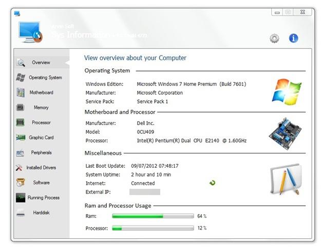 Visão geral do computador