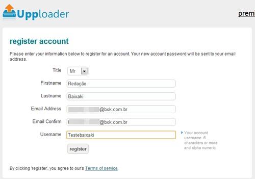 Seja um usuário de conta gratuita.