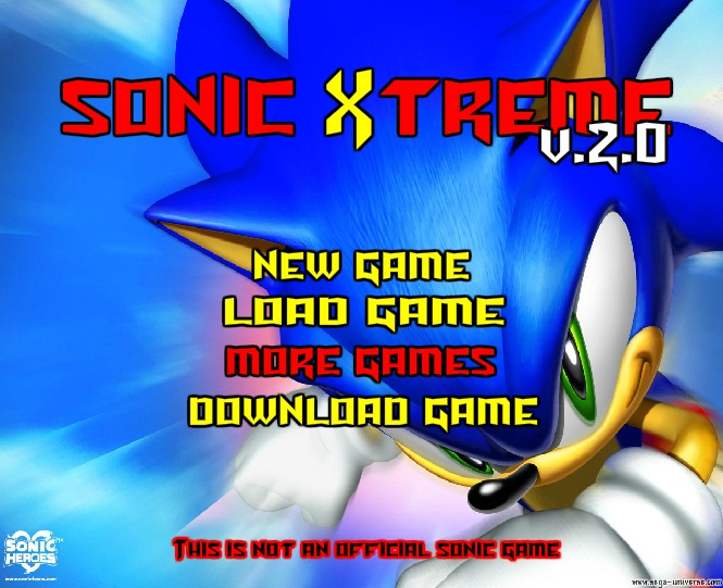 Sonic Xtreme 2 Game Free Download
