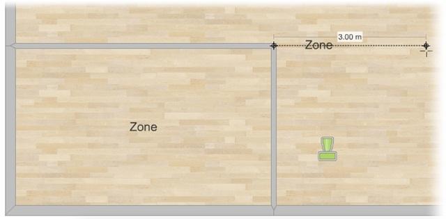 Crie divisórias entre os quartos e mude o piso
