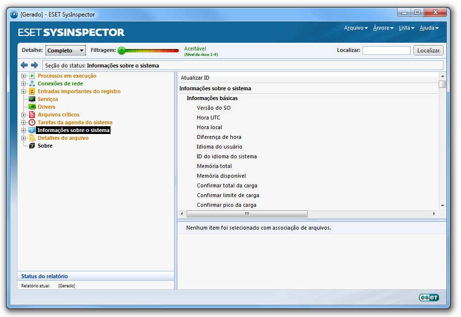 ESET SysInspector - Imagem 1 do software
