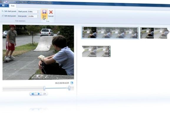 Editando vídeos com o Windows Movie Maker