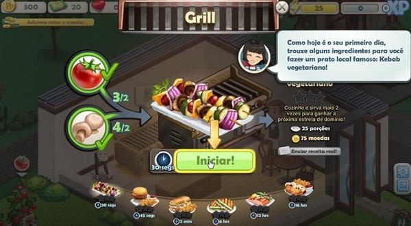 Aprenda a preparar os pratos do seu restaurante.