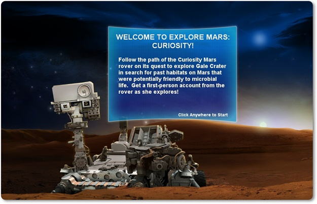 Explore Mars: Curiosity - Imagem 1 do software