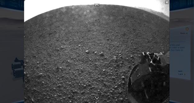 Explore Mars: Curiosity - Imagem 3 do software
