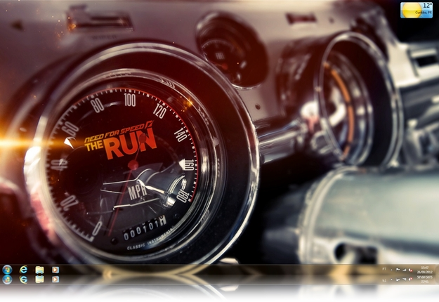 Need for Speed The Run Theme for Windows 7.