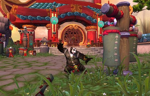 Pandaren monge