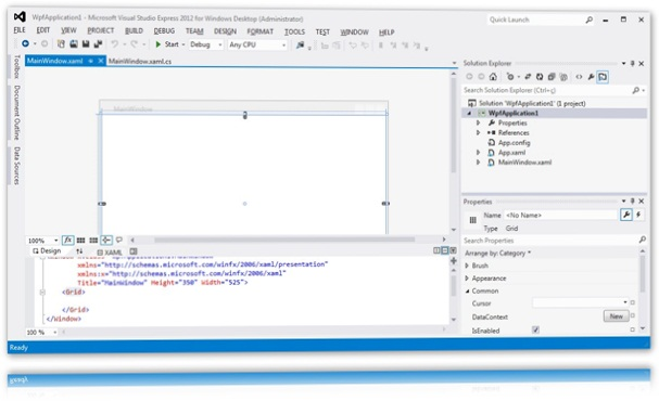 Programando com o Visual Studio