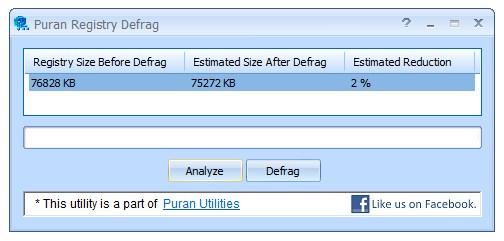 PURAN REGISTRY DEFRAG 1.2