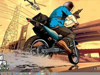 Imagem 2 do Grand Theft Auto V Windows 7 Theme