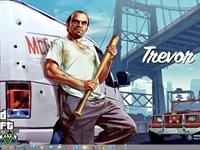 Imagem 4 do Grand Theft Auto V Windows 7 Theme