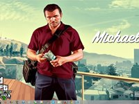 Imagem 6 do Grand Theft Auto V Windows 7 Theme