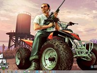 Imagem 9 do Grand Theft Auto V Windows 7 Theme
