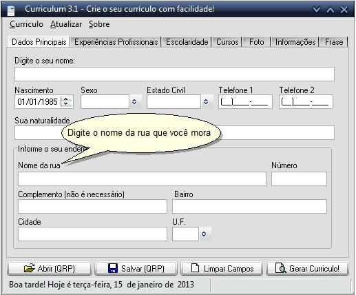 curriculum imagem 1 do software