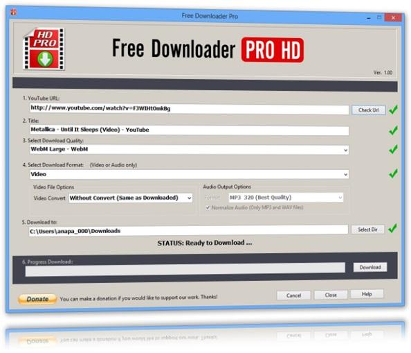 Download no formato original
