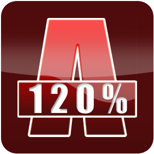 Alcohol 120% (Windows 2000/XP/2003) 2.0.2.5830