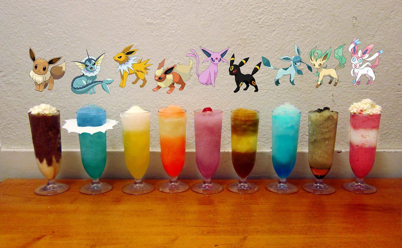 F 227 De Pok 233 Mon Cria Drinks Inspirados Nos Personagens Do