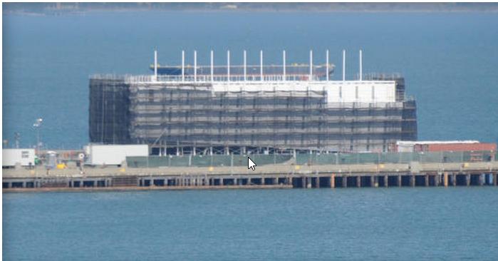 Google pode estar construindo data center para flutuar em alto mar
