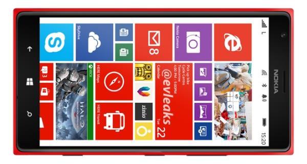 Vazam imagens de divulgação do Lumia 1520