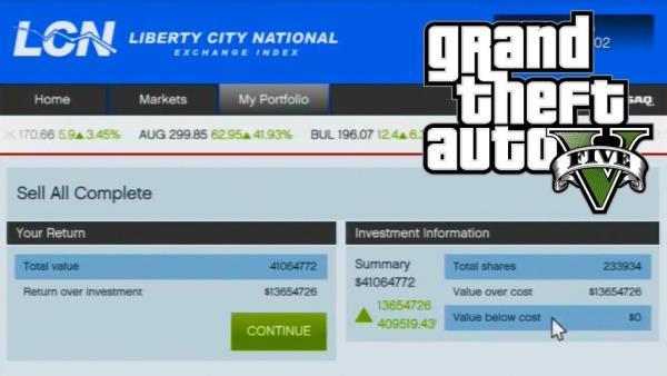 GTA V: dicas para ficar rico usando a bolsa de valores
