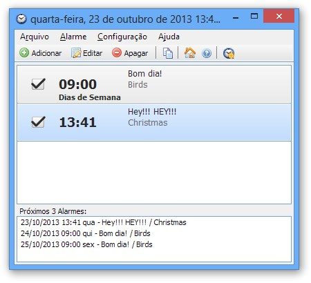 Interface do programa