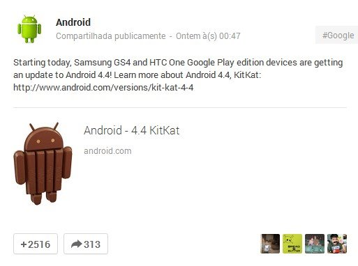 Versões Google Play Edition do HTC One e do Galaxy S4 recebem o Android 4.4
