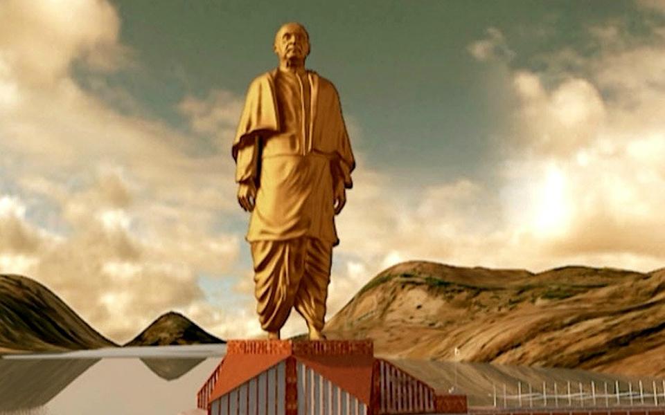 Índia deu início à construção da maior estátua do mundo