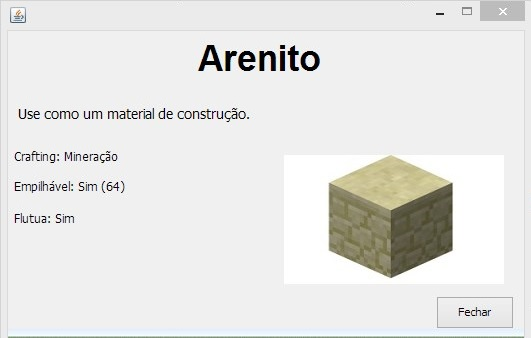 Exemplo de bloco